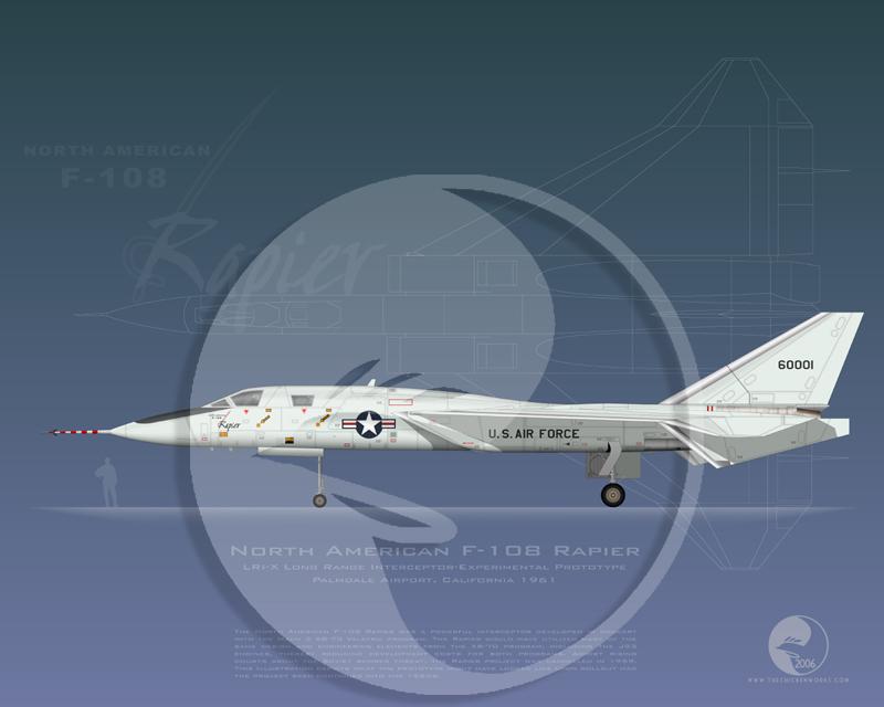 North American Aircraft XF-108