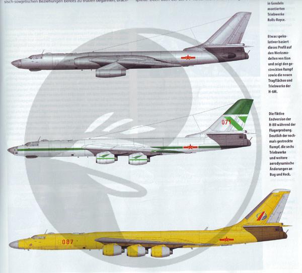 Inne Oblicza Historii :: Zobacz temat - Bombowiec Xian H-8